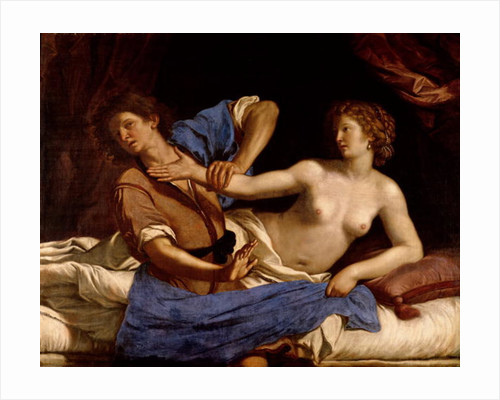 Joseph and the Wife of Potiphar by Guercino