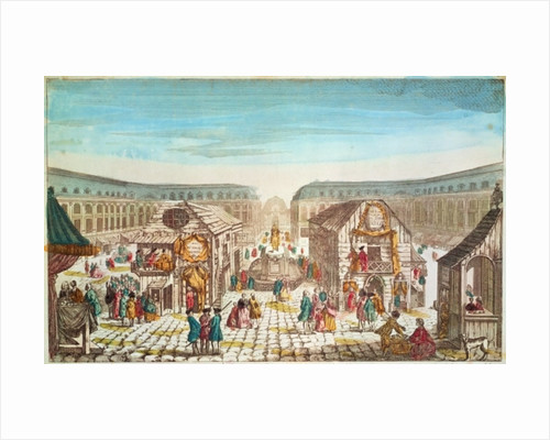 St. Ovide Fair, Place Vendome by French School