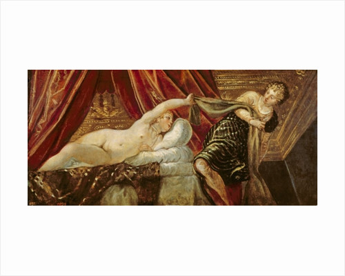Joseph and the Wife of Potiphar by Jacopo Robusti Tintoretto