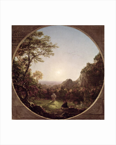 The Solitary Cross by Thomas Cole