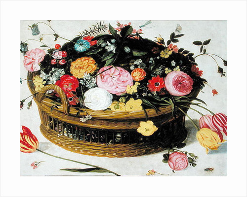Basket of Flowers by Jan Brueghel