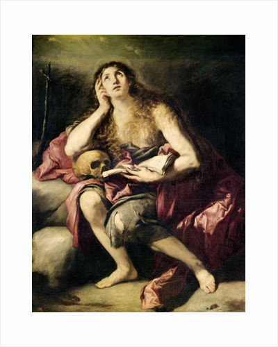 The Penitent Magdalene by Jusepe de Ribera