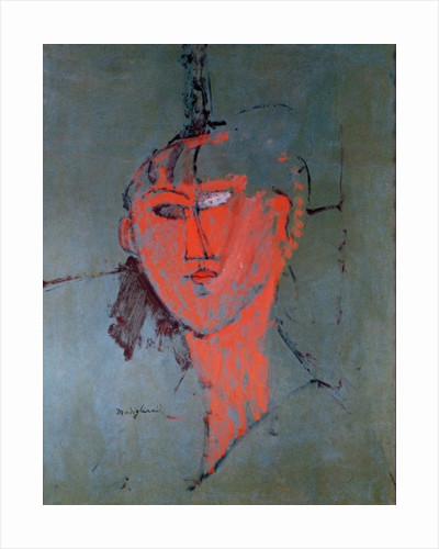 The Red Head by Amedeo Modigliani