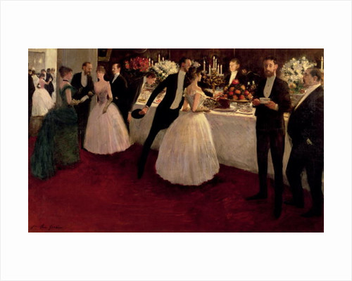 The Buffet by Jean Louis Forain