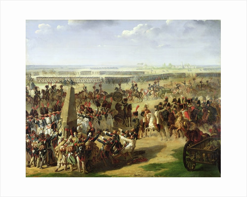 The French Army Pulling Down the Rosbach Column by Pierre Antoine Augustin Vafflard