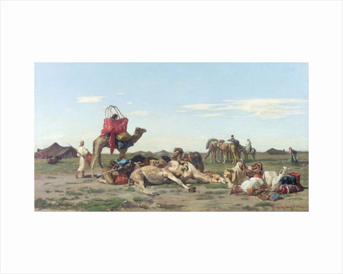 Nomads in the Desert by Georges Washington