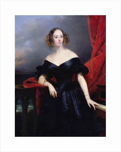 Madame Rampal, Comtesse de Grigneuseville by Claude-Marie Dubufe