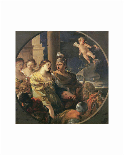 The Farewell of Dido and Aeneas by Sebastien Bourdon