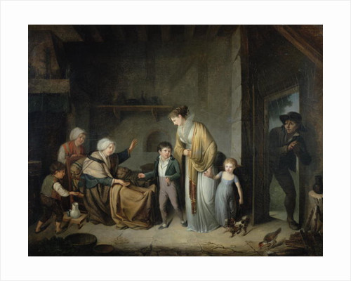The Lesson in Charity by Henri Nicolas van Gorp