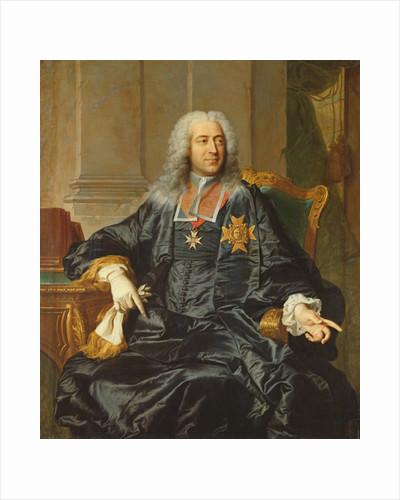 Marc-Pierre de Voyer-de-Paulmy Count of Argenson by Hyacinthe Rigaud