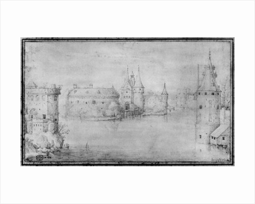 Small fortified island, Amsterdam by Pieter Bruegel the Elder