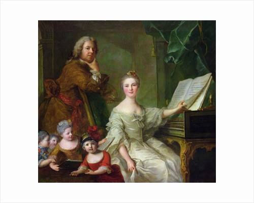 The Artist and his Family by Jean-Marc Nattier