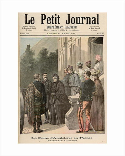 The Queen of England in France: A Walk in Grasse by Fortune Louis & Meyer