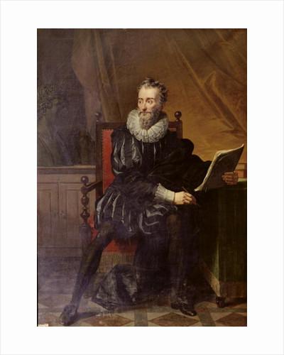 Portrait of Francois de Malherbe by Robert Lefevre