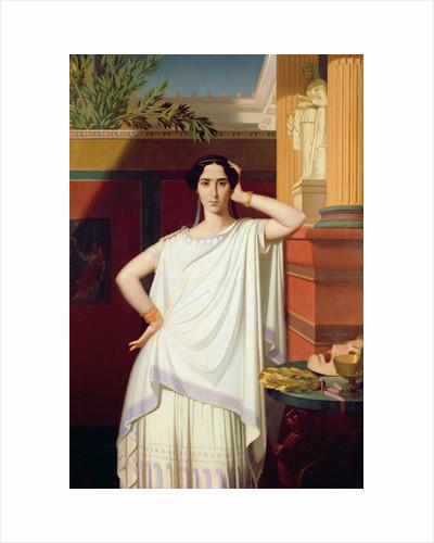 Tragedy or, Portrait of Rachel by Eugene Emmanuel Amaury-Duval