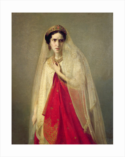 Portrait of Rachel by Friederike Emile August O'Connell