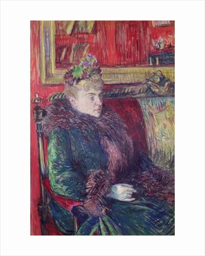 Madame de Gortzikoff by Henri de Toulouse-Lautrec