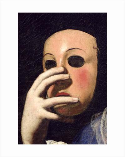 Woman with a Mask by Lorenzo Lippi