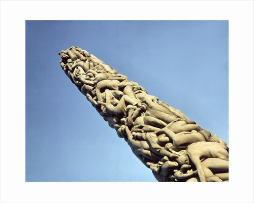 View of the Monolith by Gustav Vigeland