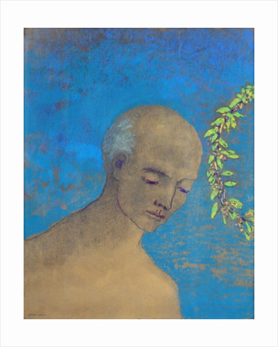 The Crown by Odilon Redon