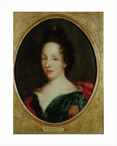 Portrait of Madame Champmesle by French School