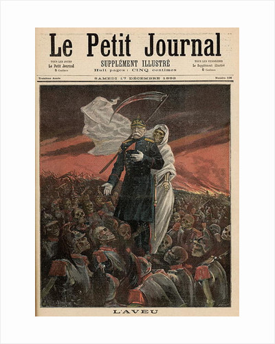 The Confession: Otto Von Bismarck with Death by Fortune Louis & Meyer