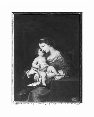 Virgin and Child by Jacques Stella