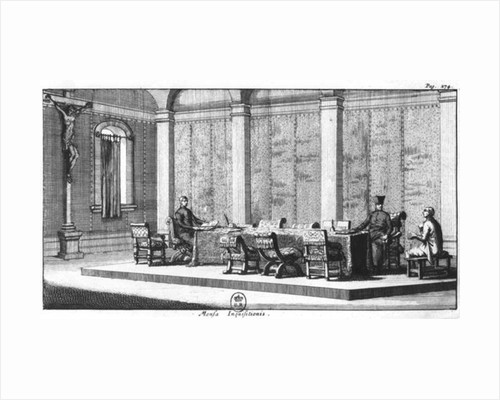 The Table of Inquisition by European School