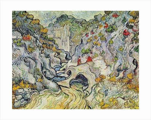 The ravine of the Peyroulets by Vincent van Gogh