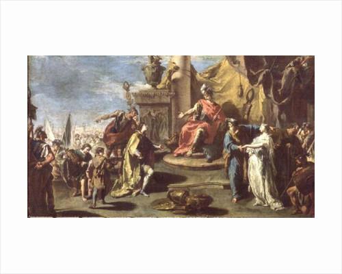 The Continence of Scipio by Giovanni Battista Pittoni