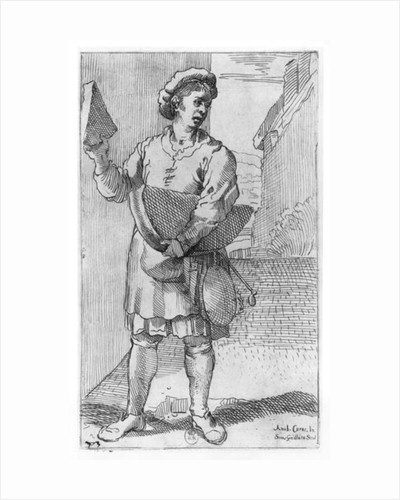 The Parmesan cheese Seller by Annibale Carracci