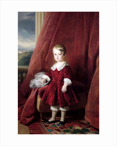 Portrait of Louis d'Orleans by Franz Xaver Winterhalter