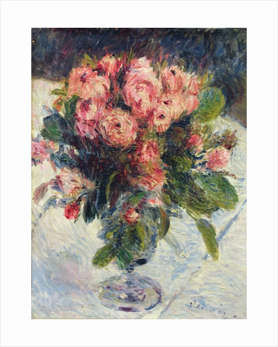 Moss-Roses by Pierre Auguste Renoir