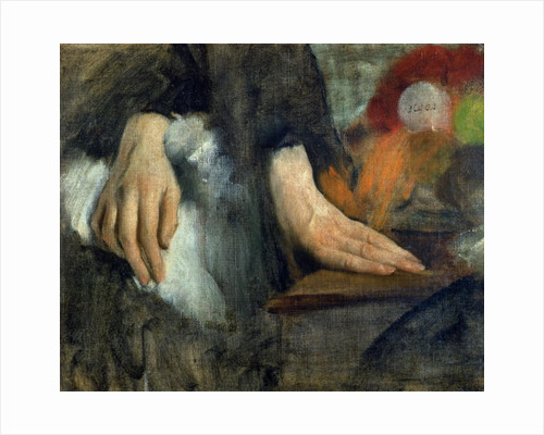 Study of Hands by Edgar Degas