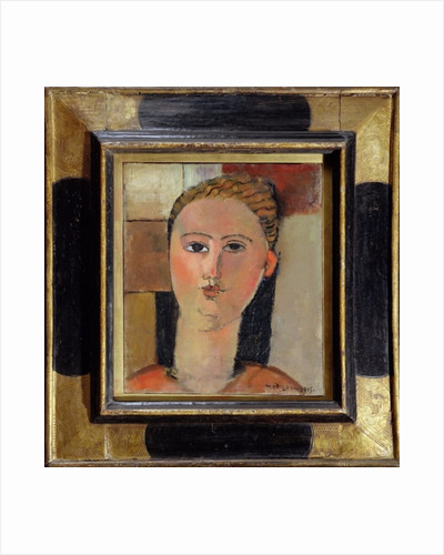 Girl with red hair by Amedeo Modigliani