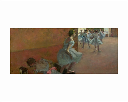 Dancers Ascending a Staircase by Edgar Degas