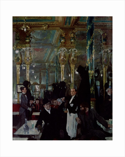 Cafe Royal, London by Sir William Orpen