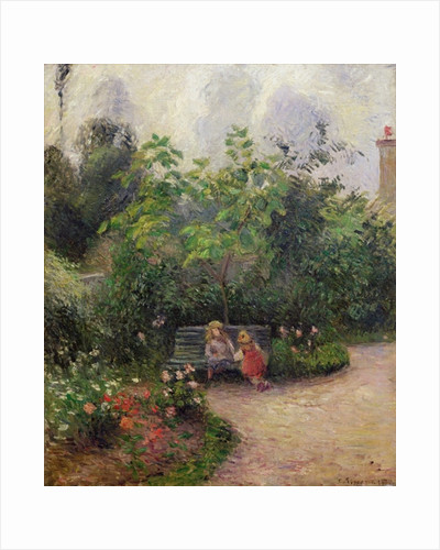 A Corner of the Garden at the Hermitage, Pontoise by Camille Pissarro