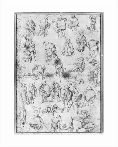 Beggars by Hieronymus Bosch