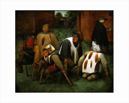 The Beggars by Pieter Bruegel the Elder