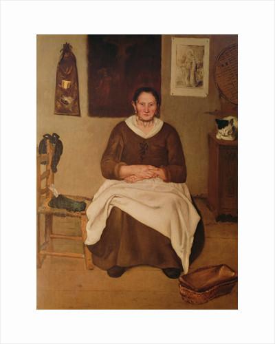 The Artist's Mother by Antonio Puga