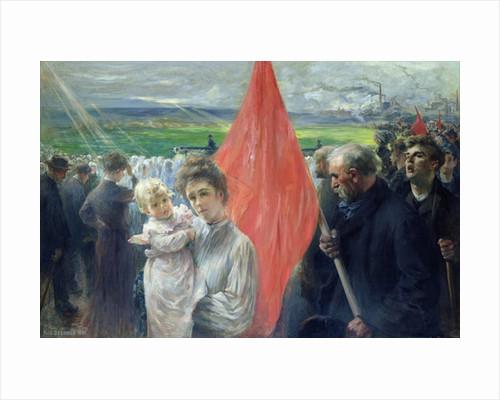 A Strike at Saint-Ouen by Paul Louis Delance
