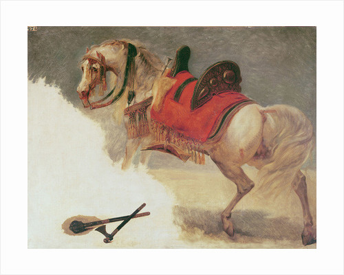 Horse of Mustapha-Pacha by Baron Antoine Jean Gros