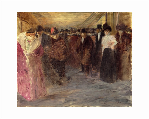 The Music Hall by Jean Louis Forain