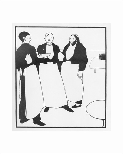 Garcons de Cafe by Aubrey Beardsley