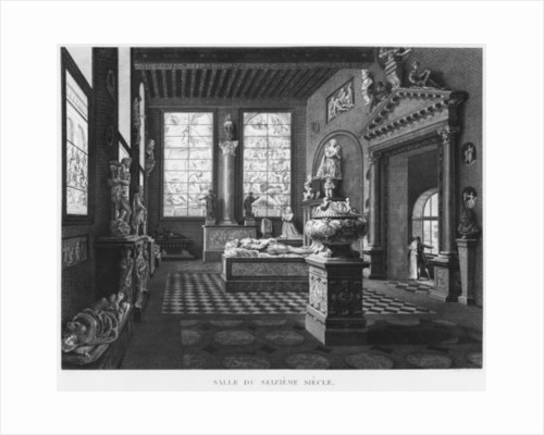The 16th century room, Musee des Monuments Francais by Jean Lubin Vauzelle
