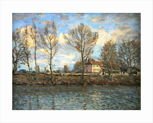 L'Ile de la Grande Jatte, Neuilly-sur-Seine by Alfred Sisley