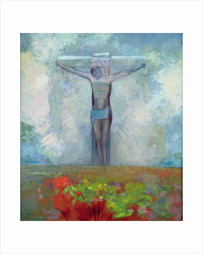 The Crucifixion by Odilon Redon