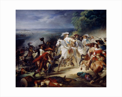Battle of Rocroy by Francois Joseph Heim