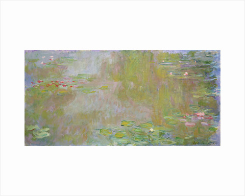 Waterlilies at Giverny by Claude Monet